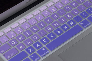 Lavender Ombre Keyboard Cover