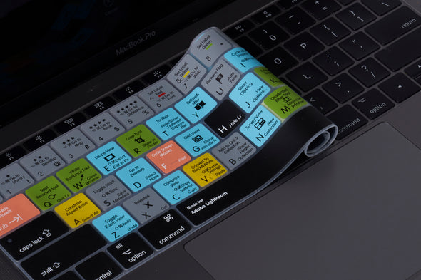 Adobe Lightroom Shortcut Keyboard Cover
