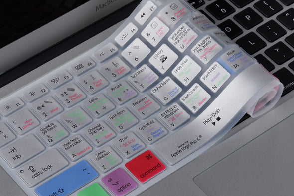 Logic Pro X Shortcut Keyboard Cover