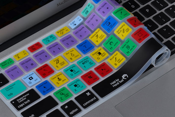 Adobe Photoshop Shortcuts Keyboard Cover
