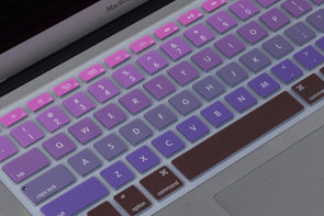 Pink to Purple Ombre Keyboard Cover