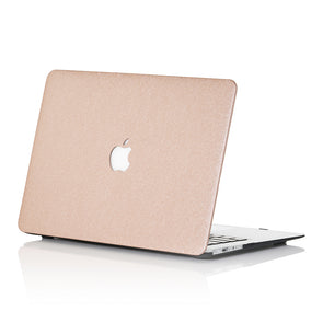 Light Gold Silk MacBook Case