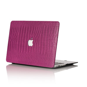 Orchid Faux Crocodile MacBook Case