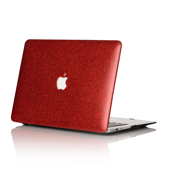 Scarlet Glitter MacBook Case