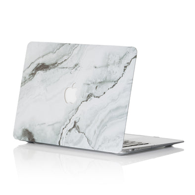 Grey Marble MacBook Case