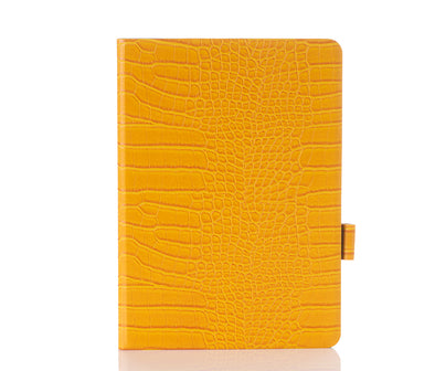 Canary Faux Crocodile iPad Case
