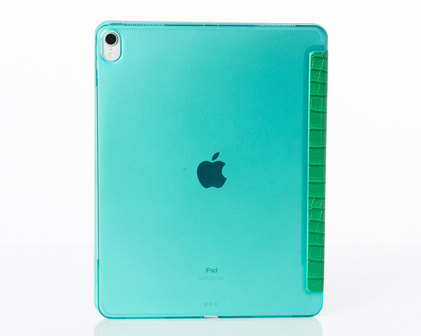 Emerald Faux Crocodile 12.9-inch iPad Pro Case