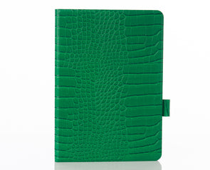 Emerald Faux Crocodile iPad Case