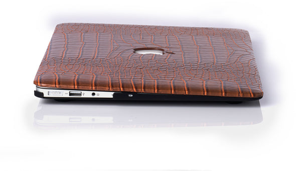Monster Faux Crocodile MacBook Case
