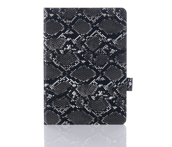 Black Snakeskin iPad Case