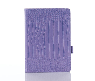 Lavender Faux Crocodile iPad Case