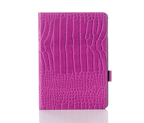 Orchid Faux Crocodile iPad Case