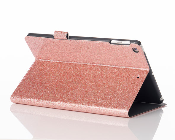 Rose Gold Glitter iPad Case