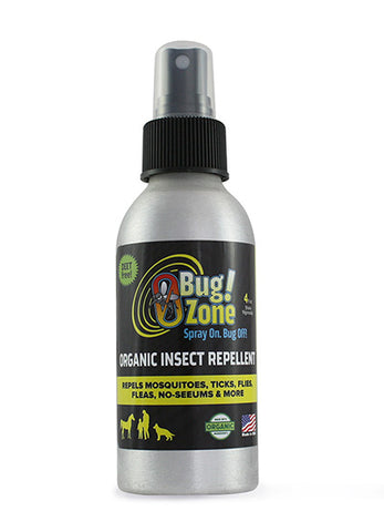 ORGANIC INSECT REPELLENT SPRAY 4 OZ BOTTLE