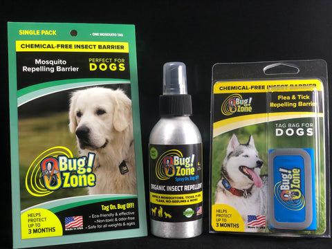 NO MORE BUGS! - DOG BUNDLE!