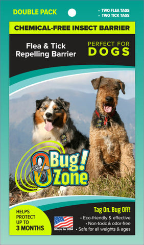 DOG FLEA / TICK DOUBLE PACK