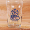 Three Notch'd Logo 20oz Nonic-style Pint Glass