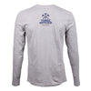 Charlottesville Location Logo Long Sleeve T-shirt - Heather Gray