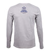 Richmond Location Logo Long Sleeve T-shirt - Heather Gray