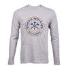 Harrisonburg Location Logo Long Sleeve T-shirt - Heather Gray