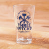 Three Notch'd Logo 16oz Pint Glass