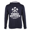 Harrisonburg Location Logo Full Zip Hoodie - Midnight Navy