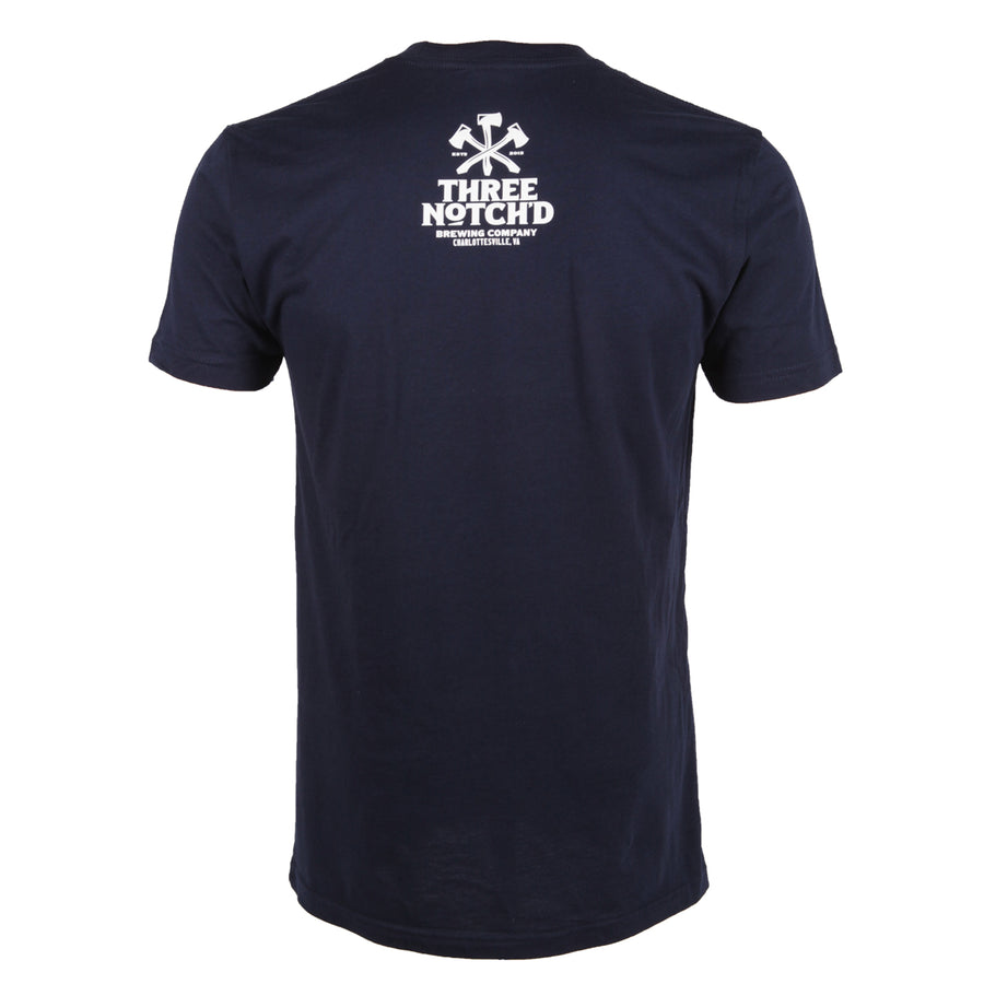 Charlottesville Location Logo T-shirt - Midnight Navy
