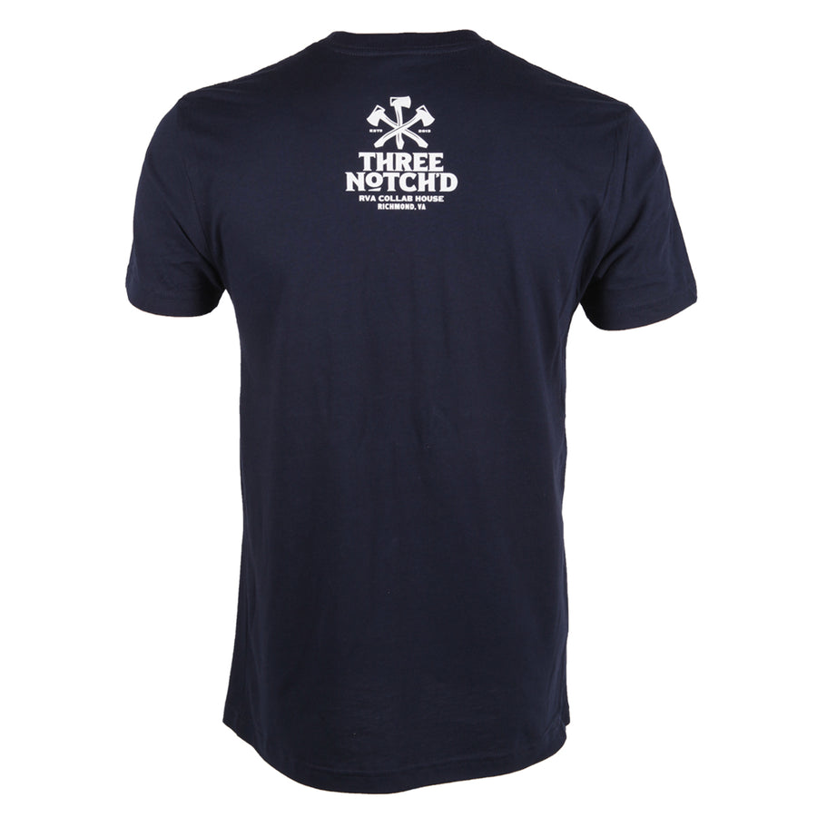 Richmond Location Logo T-shirt - Midnight Navy