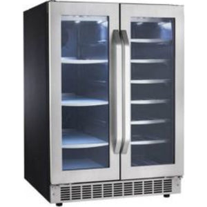 Danby  Beverage Cooler (61 Cans 21 Bottles) (DBC047D2BSSPR) - Stainless