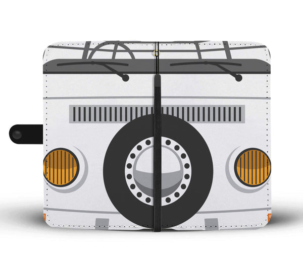 Bay Bus Phone Wallet Case