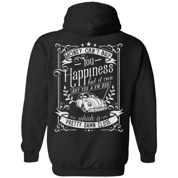 Happines Bug Hoodie Back Print