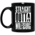 Straight Outta Wolfsburg 11 oz. Black Mug