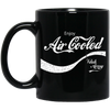 Enjoy Air Cooled 11 oz. Black Mug