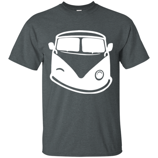 White Bus Smile T-Shirt