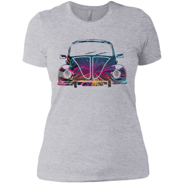 Bug Flower Womens T-Shirt