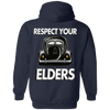 Respect Your Elders Split Hoodie (Back Print)