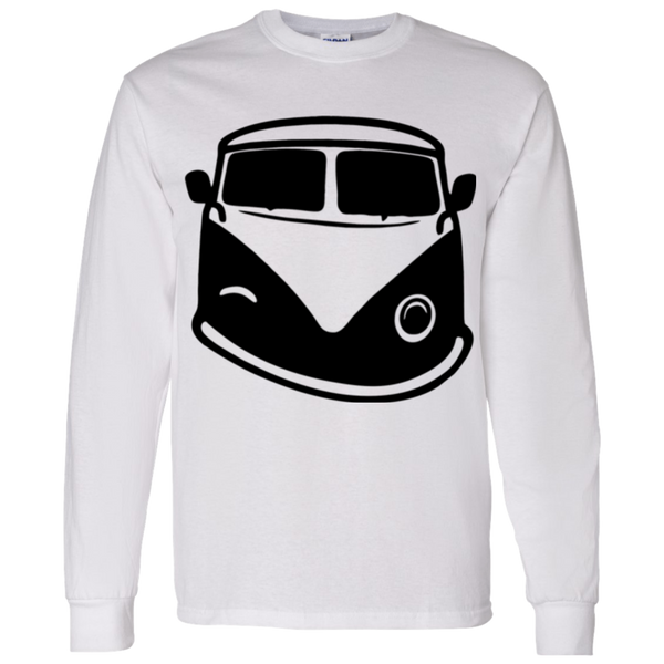 Black Bus Smile Longsleeve Shirt