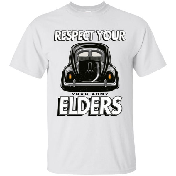 Respect Your Elders Split T-Shirt
