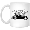 Vintage Bug 11 oz. White Mug