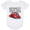 Respect Your Elders Bug Onesie