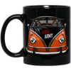 Bus Front 11 oz. Black Mug
