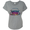 Bug Flower Womens Loose T-Shirt