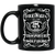 Volks Whiskey 11 oz. Black Mug