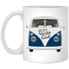 Bus Front v2 11 oz. White Mug