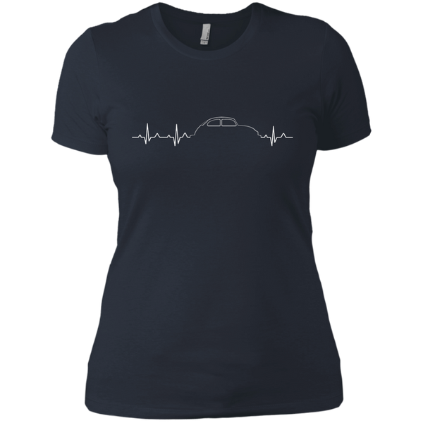 Bug Heartbeat Womens T-Shirt