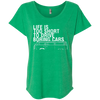 Life is Too Short Bus Womens Loose T-Shirt