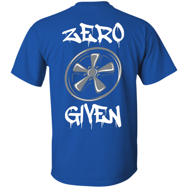 Zero Fuchs Given T-Shirt Back Print