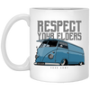 Respect Your Elders Bus 11 oz. White Mug