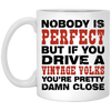 Nobody Is Perfect 11 oz. White Mug