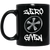 Zero Fuchs Given 11 oz. Black Mug